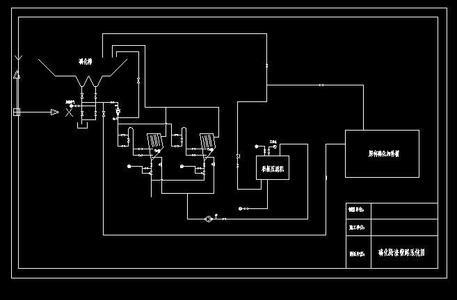 前处理磷化除渣管路系统图