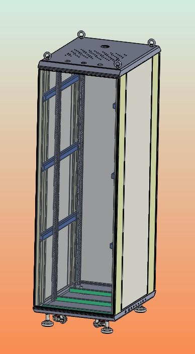 19寸标准机柜图纸9-76790