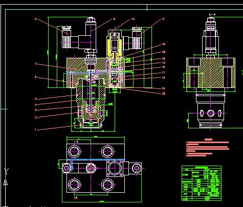 电液比例阀设计(论文+DWG图纸)