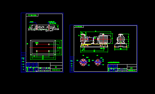 DFCZ50-200A-4-4水泵设计图