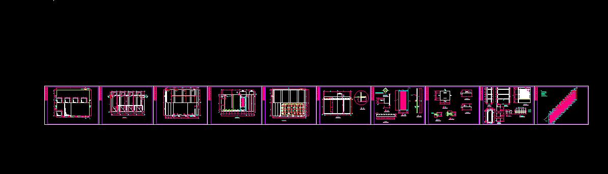 某污水处理厂全套设计图