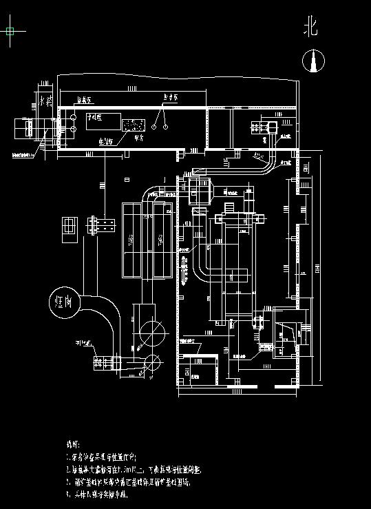 25吨锅炉房布局图