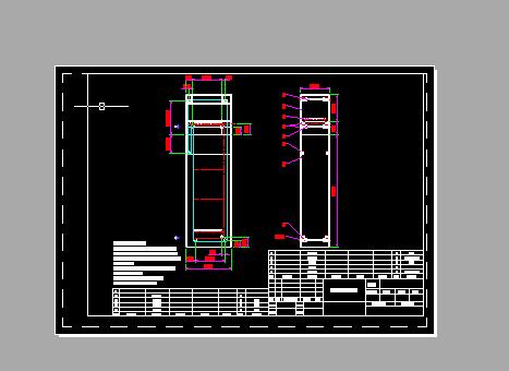 C型升降机设计图
